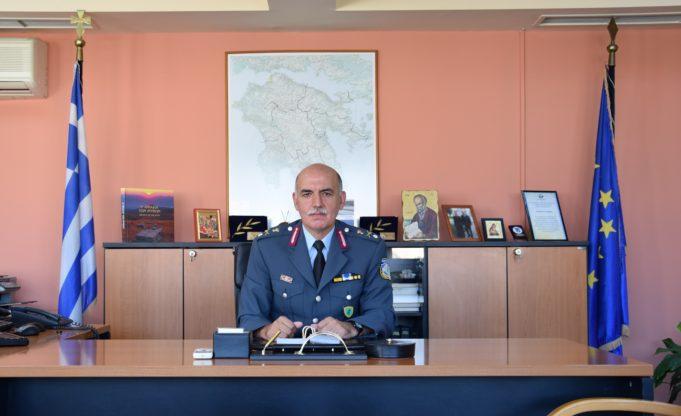 Παραμένει στη θέση του Γενικού Αστυνομικού Διευθυντή Πελοποννήσου ο Ταξίαρχος Π. Πούπουζας.
