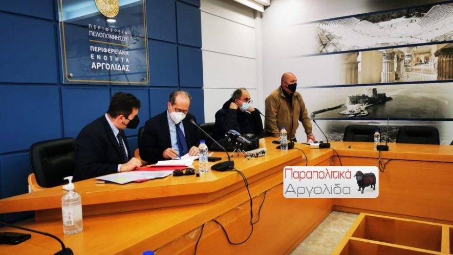 Π.Νίκας: Χωρίς την έγκριση της τοπικής κοινωνίας δεν κάνουμε τίποτα στον Ερασίνο