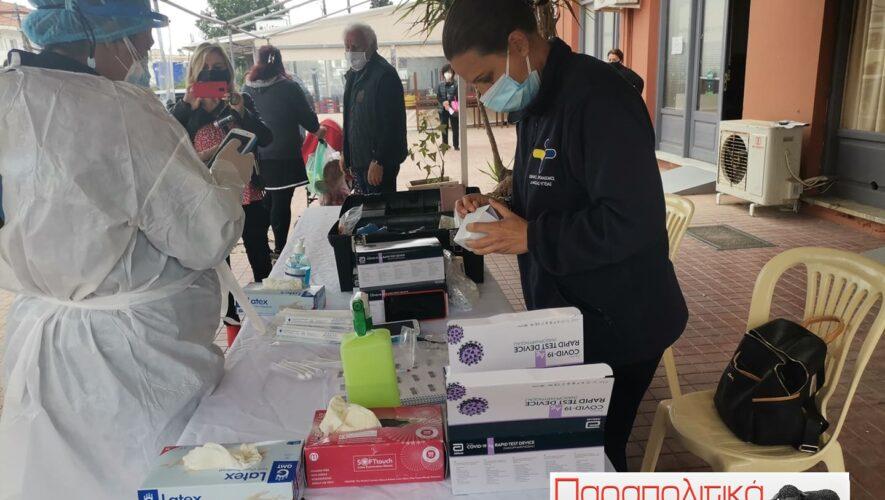 Πόσα θετικά τεστ του ιού sars-cov-2βγήκαν σήμερα στη Νέα Κίο
