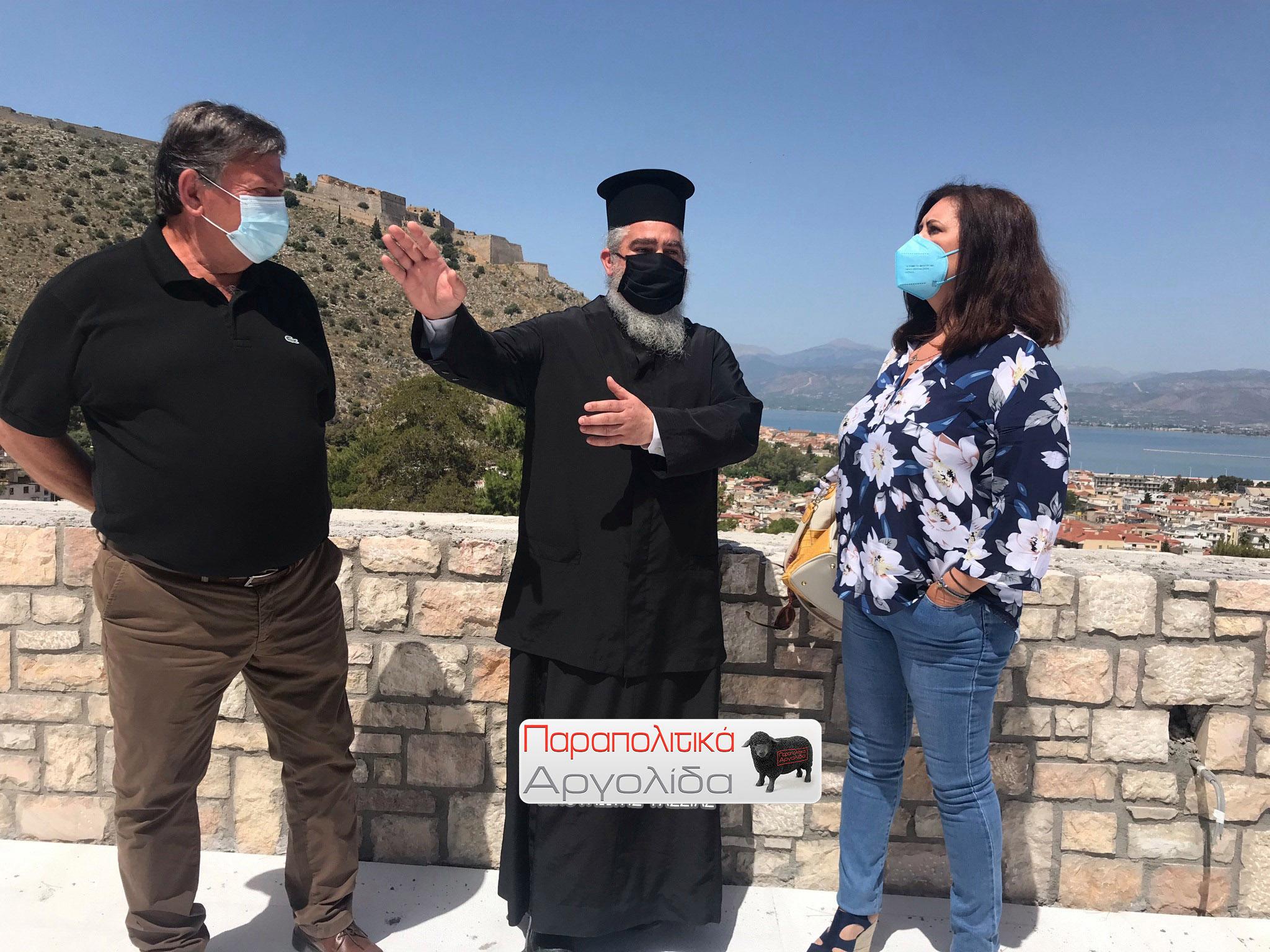 """Ο Π.Τατούλης και η """"επικεφαλής"""" Ντίνα Νικολάκου στην Αργολίδα"""