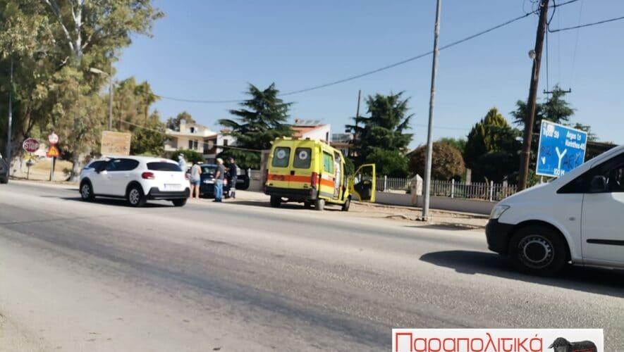 Τροχαίο ατύχημα χωρίς σοβαρές συνέπειες στο Άργος
