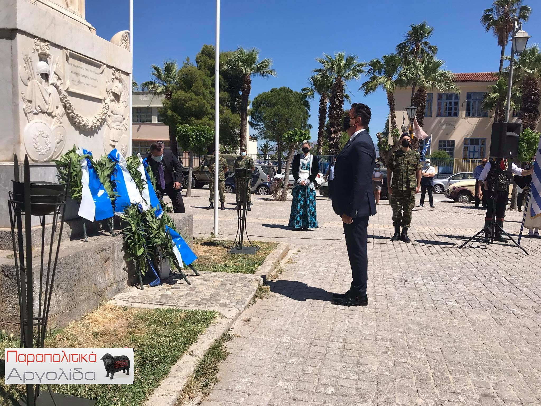 Ημέρα μνήμης της γενοκτονίας των Ελλήνων του Πόντου, στο Ναύπλιο