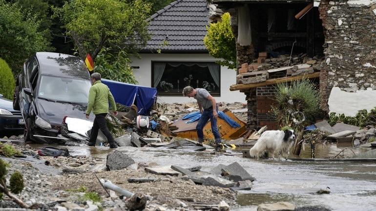 Γερμανία: Τουλάχιστον 1.300 αγνοούμενοι από τις πλημμύρες - Παραπολιτικά  Αργολίδα